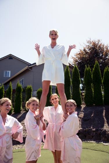 Because we're cheerleaders!
